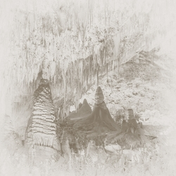 New Mexico: Carlsbad Caverns 12 x 12 Paper