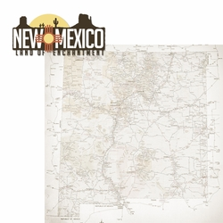 New Mexico: Land of Enchantment 2 Piece Laser Die Cut Kit
