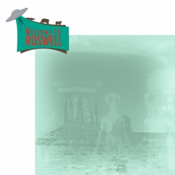 New Mexico: Roswell 2 Piece Laser Die Cut Kit