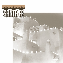 New Mexico: Santa Fe 2 Piece Laser Die Cut Kit