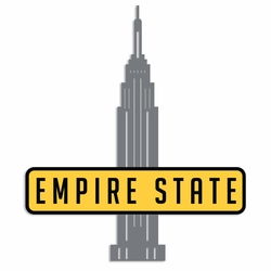 New York: Empire State Laser Die Cut