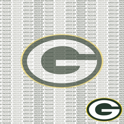 NFL Fanatic: Green Bay Packers 12 x 12 Paper