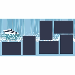 Niagara Falls 2 Page Layout Kit