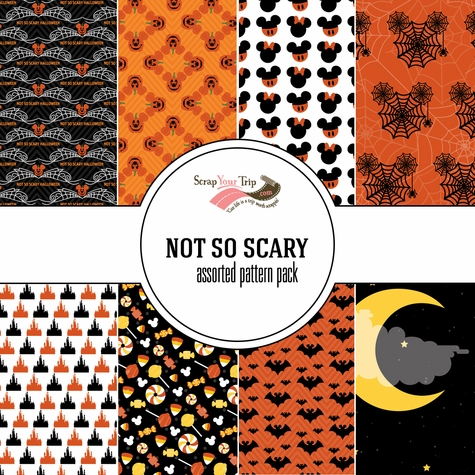 Not So Scary Assorted 12 x 12 Paper Pack
