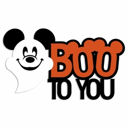 Not So Scary: Boo To You Laser Die Cut