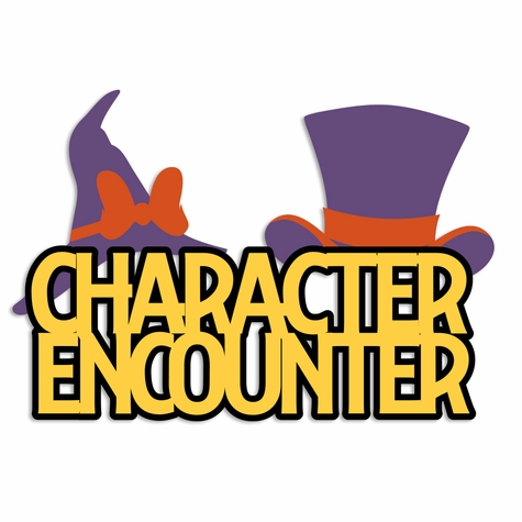 Not So Scary: Character Encounter Laser Die Cut