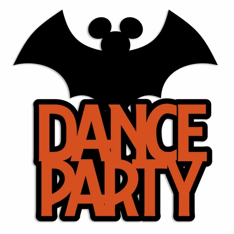 Not So Scary: Dance  Party Laser Die Cut