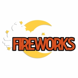 Not So Scary: Fireworks Laser Die Cut