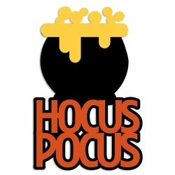 Not So Scary: Hocus Pocus Laser Die Cut