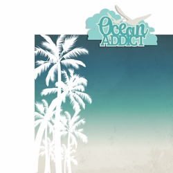 Ocean Addict 2 Piece Laser Die Cut Kit