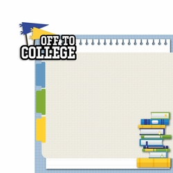 Off to College Page Layout
