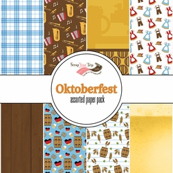 Oktoberfest Assorted 12 x 12 Paper Pack
