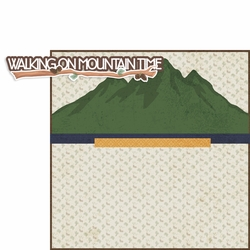 On Mountain Time 2 Piece Print and Cut Kit