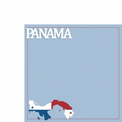 Panama: Panama 2 Piece Laser Die Cut Kit