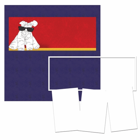 Panorama: Towel Animals Frame Kit-<font color=red> <b>we &hearts; this</b></font>