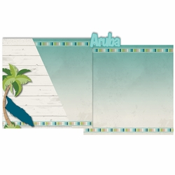 Paradise: Aruba 3 Piece Laser Die Cut Kit