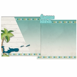 Paradise: Cayman Islands 3 Piece Laser Die Cut Kit