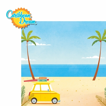 Paradise Found: Carribean Dream 2 Piece Laser Die Cut Kit