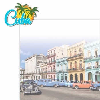 Paradise Found: Cuba 2 Piece Laser Die Cut Kit