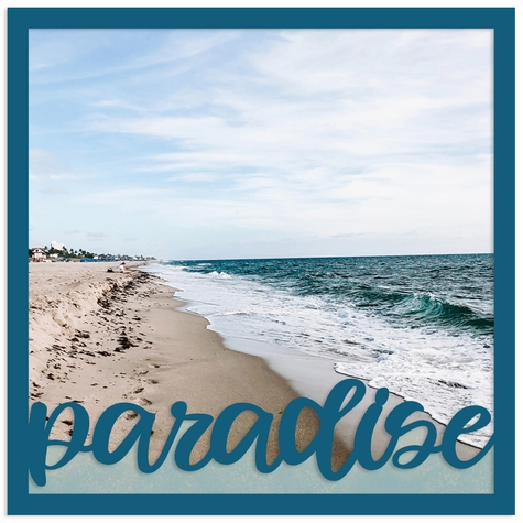 Paradise Overlay Quick Page Laser Die Cut