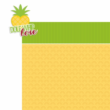 Parks: Dole Whip Love 2 Piece Laser Die Cut Kit