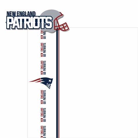 Patriots: Go Patriots 2 Piece Laser Die Cut Kit