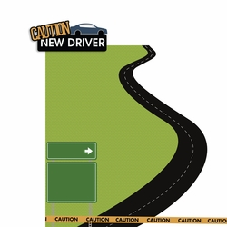 Permit to Drive: New Driver 2 Piece Laser Die Cut Kit