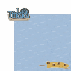 Peru: Lake Titicaca 2 Piece Laser Die Cut Kit