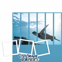 Photo Blocks: Sea of Wonder 2 Piece Laser Die Cut Kit