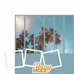 Photo Blocks: Vacay Mode 2 Piece Laser Die Cut Kit