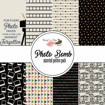 Photo Bomb Assorted 12 x 12 Paper Pack