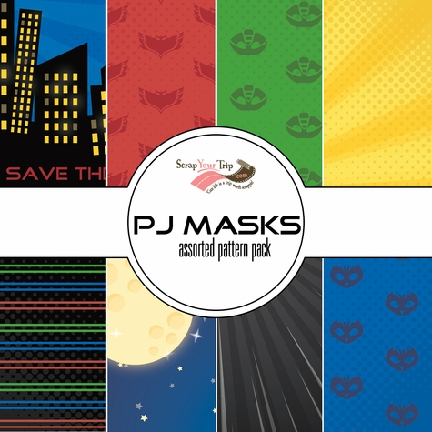 PJ Assorted 12 x 12 Paper Pack