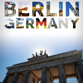 Places To See: Berlin 12 x 12 Paper