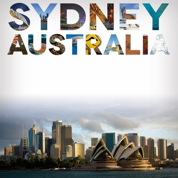 Places To See: Sydney 12 x 12 Paper