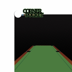 Pool Shark: Corner Pocket 2 Piece Laser Die Cut Kit