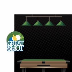 Pool Shark: Great Shot 2 Piece Laser Die Cut Kit