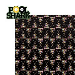 Pool Shark: Pool Shark 2 Piece Laser Die Cut Kit