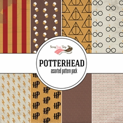 Potterhead Assorted 12 x 12 Paper Pack