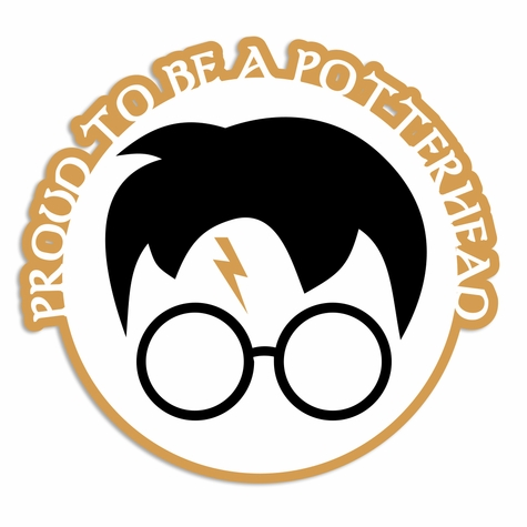 Potterhead: Proud to be Laser Die Cut