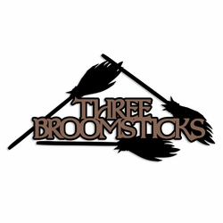 Potterhead: Three Broomsticks Laser Die Cut