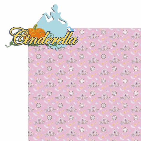 Princesses: Cinderella 2 Piece Laser Die Cut Kit