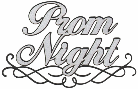 Prom Night Laser Die Cut