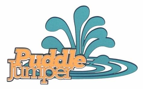 Puddle Jumping Laser Die Cut