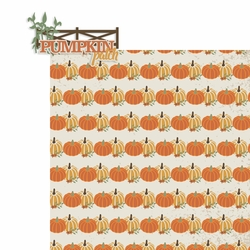Pumpkin Patch 2 Piece Laser Die Cut Kit