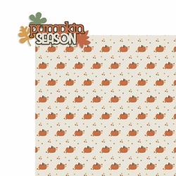 Pumpkin Spice: Pumpkin Season 2 Piece Laser Die Cut Kit
