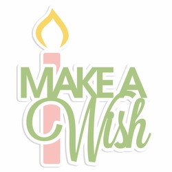 Rainbow Wishes: Make a Wish Laser Die Cut