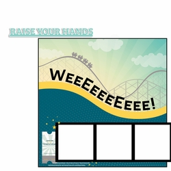 Raise your Hands Page Layout