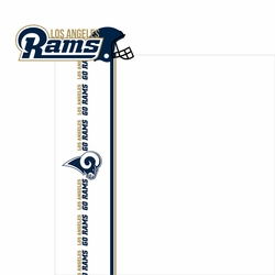 Rams: Go Rams 2 Piece Laser Die Cut Kit
