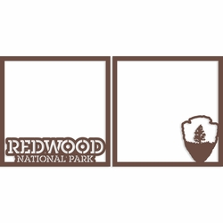 Redwood 12 x 12 Overlay Laser Die Cut
