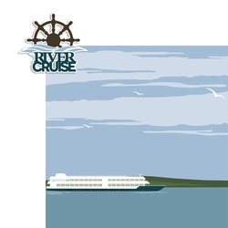 River Cruise 2 Piece Laser Die Cut Kit